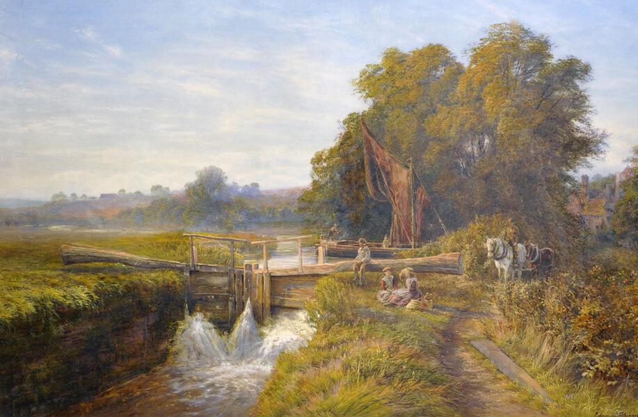Edmund George Warren (1834-1909) British/John Nicholson's Auctioneers and Valuers