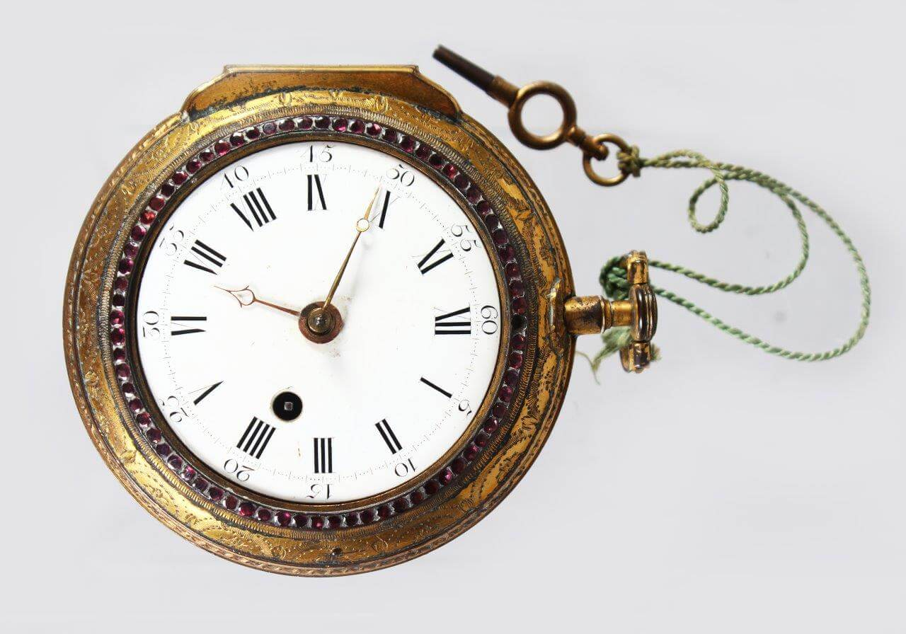 A large Ward of London verge pocket watch/Fine antique Auctioneers and Valuers