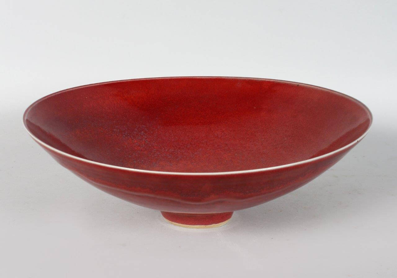 A circular bowl by Rupert Spira/Auctioneers and Valuers