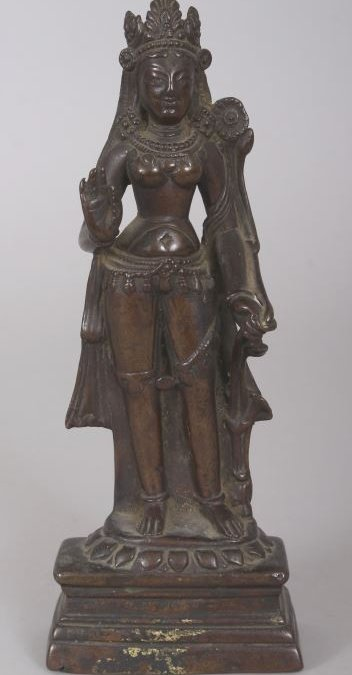 STAR LOT – BRONZE STATUE SELLS FOR £155,000 AT ORIENTAL 18 APRIL AUCTION