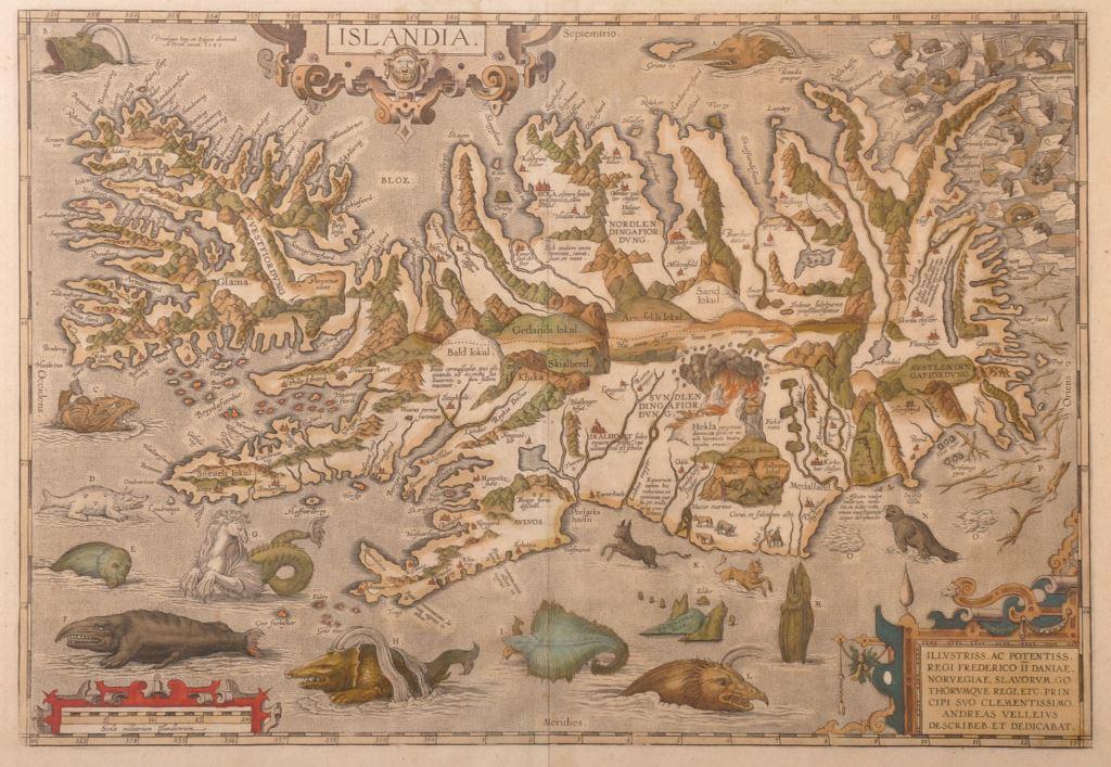 Regi Frederico Li Daniae (17th Century) Norwegian. /Auctioneers and Valuers