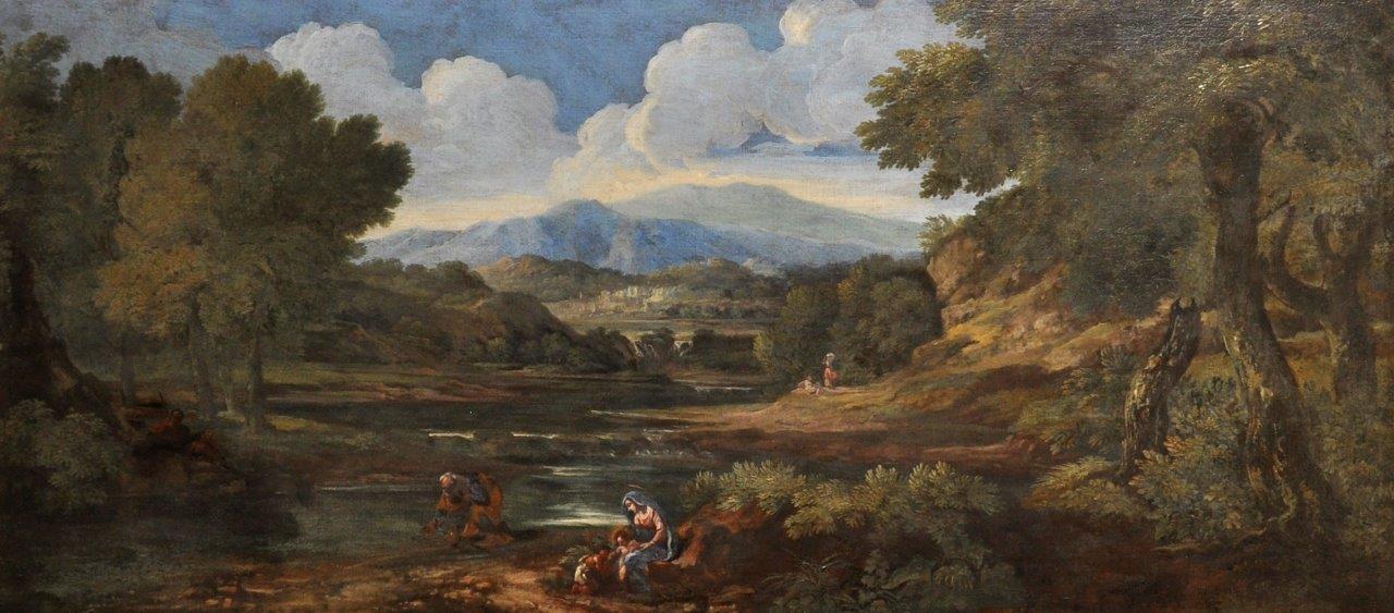 Attributed to Crescenzio Onofri (1632-1712) Italian. /Auctioneers and Valuers