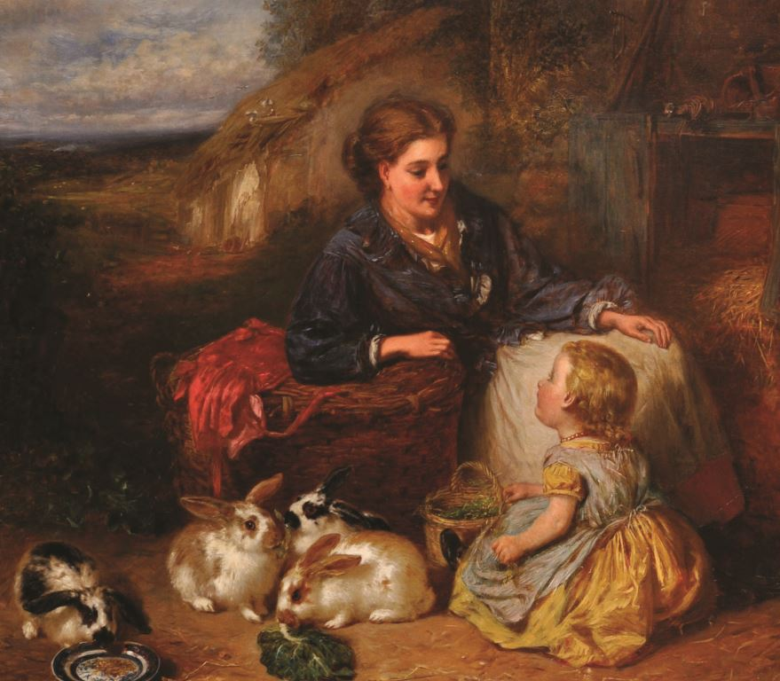 Henry Garland (1834-1913) British. /Auctioneers and Valuers