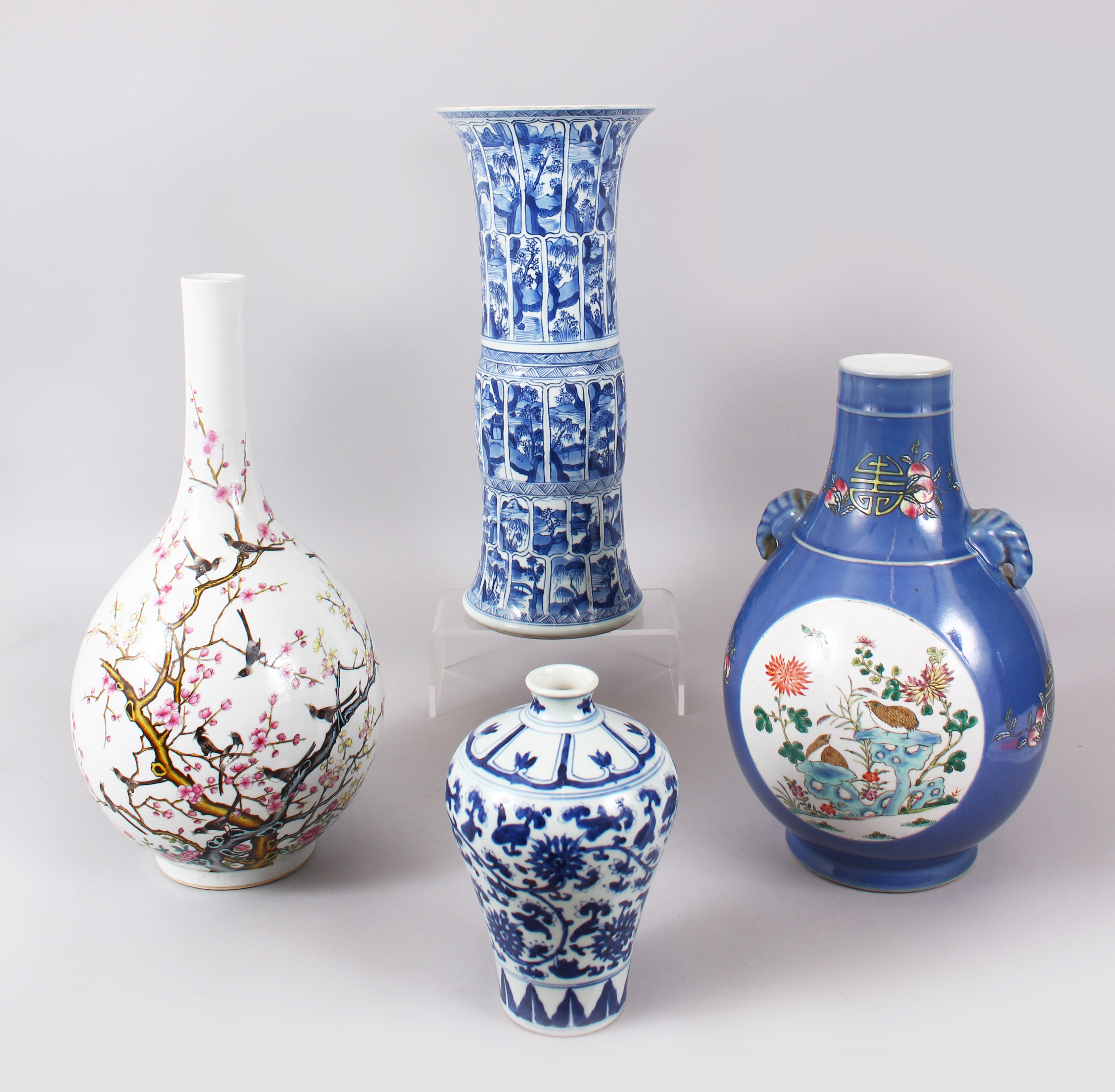 A superb selection of Chinese vases. Oriental 20 February./Auctioneers and Valuers